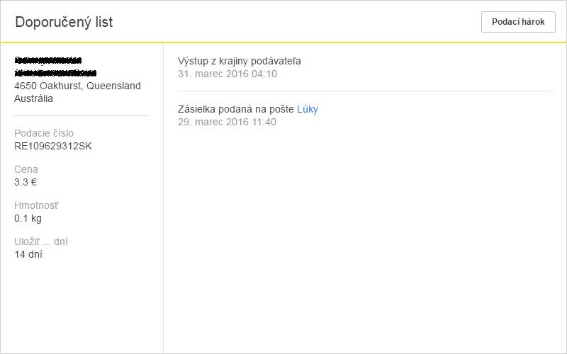 ebay jak poslat zboží zahranicie
